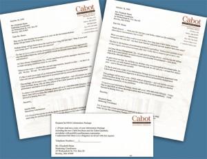 sales letter mailer