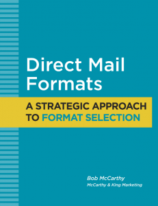 Direct Mail Formats - cover