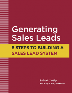 Sales Leads - 8 steps - cover
