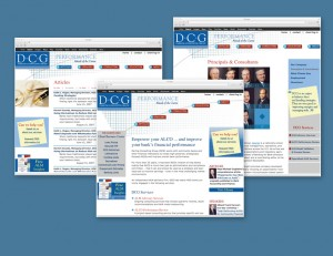 Financial Consulting Website