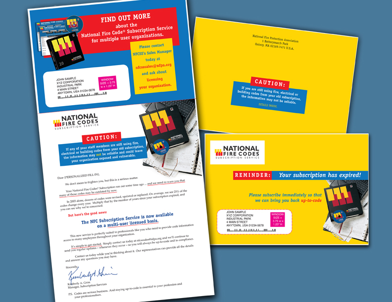 Writing design sales letters and direct mail packages for Direct from the designers
