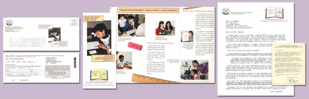 NonProfit Education Fundraising Letter Package