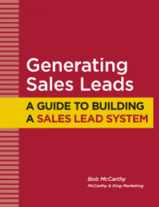 Generating Sales Leads