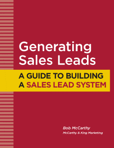 New Form Generating Sales Leads 3 13 15 Mccarthy And